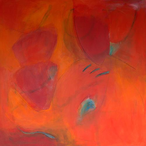 Triptychon 120 x 120 cm, 2020