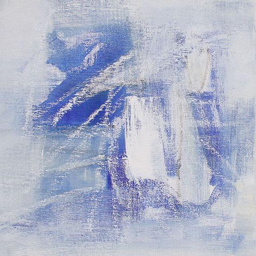 monochrom, 2019, 20 x 20 cm, Malplatte