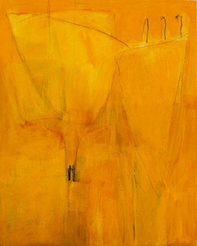 2006, Marion's Gelb, 130 x 150 cm