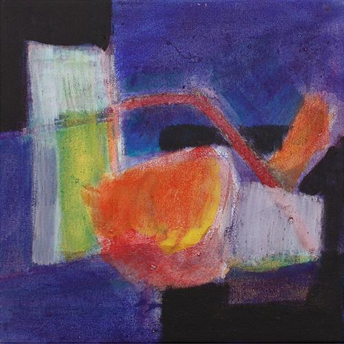 b Dramatisch II, 2008, 30 x 30 cm, Fr. 200.-