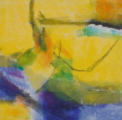 Kraft und Farbe, I, 2002, 90 x 90 cm, Fr. 600.-