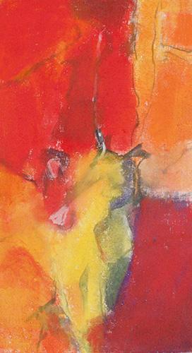 Kraft und Farbe, II, 2002, 50 x 90 cm, Fr. 400.-