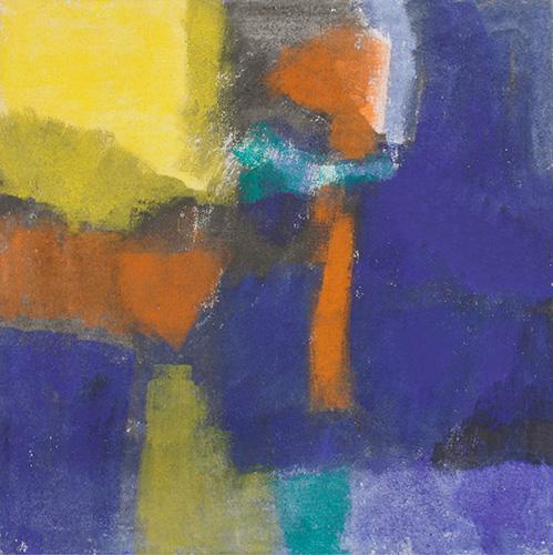 Kraft und Farbe, III, 2002, 90 x 90 cm, Fr. 600.-